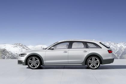 Audi A6 C7 Allroad Aussenansicht Seite statisch silber