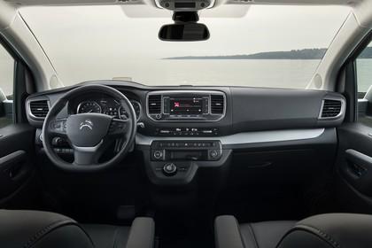 Citroën Spacetourer Innenansicht statisch Vordersitze und Armaturenbrett