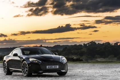 Aston Martin Rapide S Aussenansicht Front schräg statisch schwarz