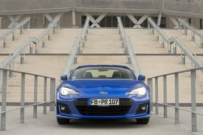 Subaru BRZ Aussenansicht Front statisch blau