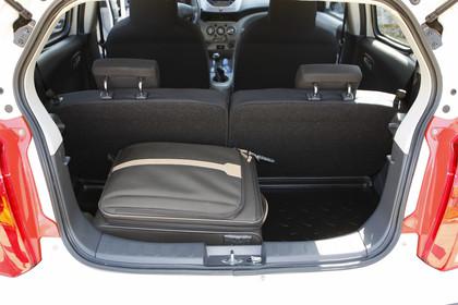 Nissan Pixo HF Innenansicht Kofferraum statisch schwarz