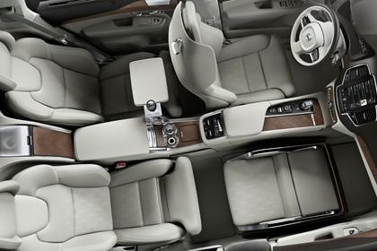 Volvo XC90 Excellence L Innenansicht Draufsicht statisch Studio