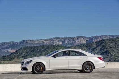 Mercedes-AMG CLS  C218 Aussenansicht Seite statisch weiss