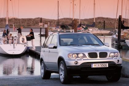 BMW X5 E53 Aussenansicht Front schräg statisch silber