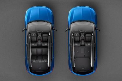 Opel Grandland X Z Aussenansicht statisch draufsicht blau