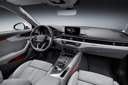 Audi A4 allroad quattro Innenansicht Beifahrerposition Studio statisch grau