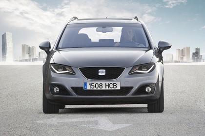 SEAT Exeo ST 3R Facelift Aussenansicht Front statisch grau