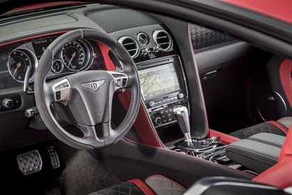 Bentley Continental Supersports Innenansicht statisch Studio Vordersitze und Armaturenbrett fahrerseitig