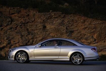 Mercedes CL C216 Aussenansicht Seite statisch silber