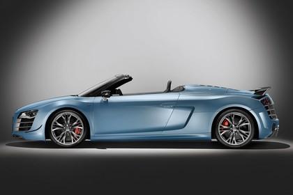 Audi R8 Aussenansicht Seite Studio statisch blau