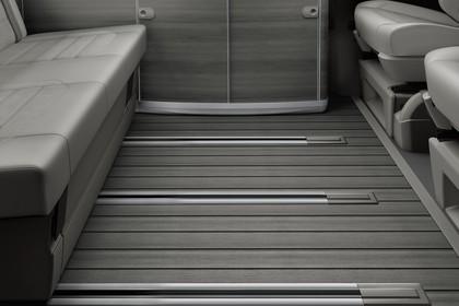 VW T6 California SG/SF Innenansicht Innenraum Rücksitze