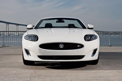 Jaguar XK Cabriolet X150 Aussenansicht Front statisch weiß