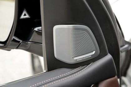 BMW X5 Facelift Innenansicht Detail Spiegeldreieck statisch