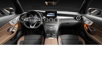 Mercedes-Benz C-Klasse Cabriolet A205 Innenansicht statisch Studio Vordersitze und Armaturenbrett