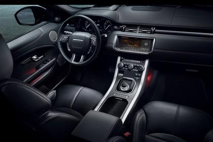 Land Rover Range Rover Evoque Coupé L538 Innenansicht Studio Cockpit statisch schwarz