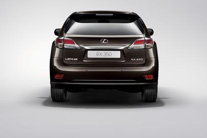 Lexus RX AL1 Studio Aussenansicht Heck statisch braun