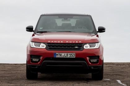 Land Rover Range Rover Sport LW Aussenansicht Front statisch rot