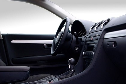 SEAT Exeo ST 3R Innenansicht statisch Studio Mittelkonsole und Armaturenbrett beifahrerseitig