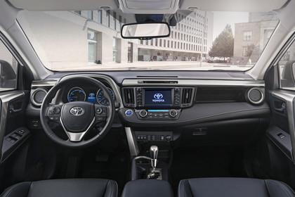 Toyota RAV4 (XA4) Innenansicht Armaturenbrett statisch
