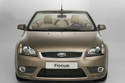 Ford Focus MK2 Cabrio Studio Aussenansicht Front statisch braun