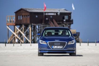 Hyundai Genesis DH Aussenansicht Front statisch grau