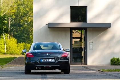 Peugeot RCZ Aussenansicht Heck statisch schwarz