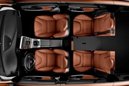 Volvo V60 F Innenansicht statisch Studio Innenraum Draufsicht