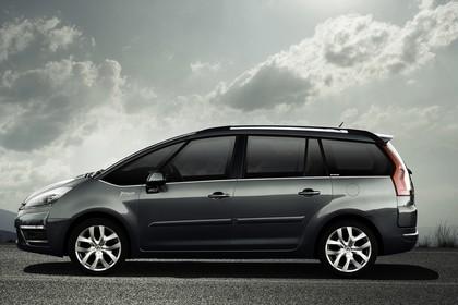 Citroën C4 Grand Picasso U Aussenansicht Seite statisch grau