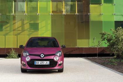 Renault Twingo N Facelift Dreitürer Aussenansicht Front statisch violett