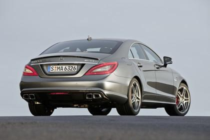 Mercedes-AMG CLS  C218 Aussenansicht Heck statisch silber