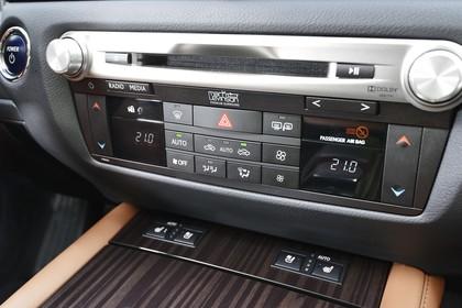 Lexus GS L10 Innenansicht statisch Detail Klimabedienteil