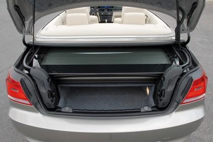 BMW 3er Cabriolet Innenansicht statisch Kofferraum