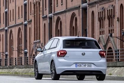 VW Polo AW Aussenansicht Heck schräg statisch weiss