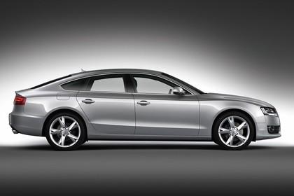 Audi A5 Sportback Aussenansicht Seite Studio statisch silber