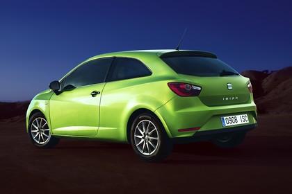 SEAT Ibiza SC 6P Heck schräg statisch grün