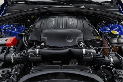 Jaguar F-Pace X761 Aussenansicht statisch Detail Motor