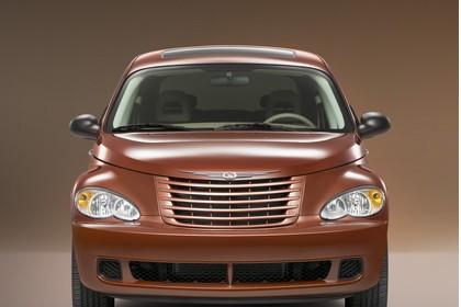 Chrysler PT Cruiser Facelift Aussenansicht Front statisch Studio braun