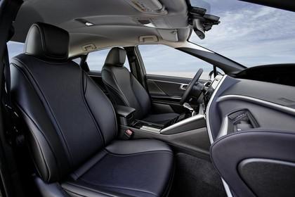 Toyota Mirai Innenansicht Detail statisch schwarz Sitze