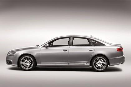 Audi A6 4f Facelift Aussenansicht Seite Studio statisch silber