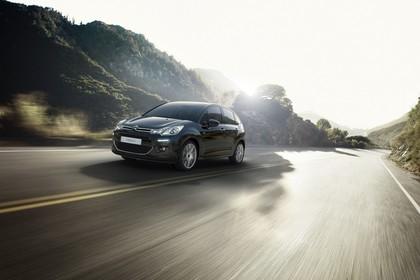 Citroën C3 S Aussenansicht Front schräg dynamisch schwarz