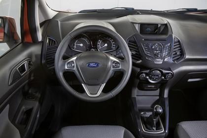 Ford EcoSport B515 Innenansicht Vordersitze und Armaturenbrett