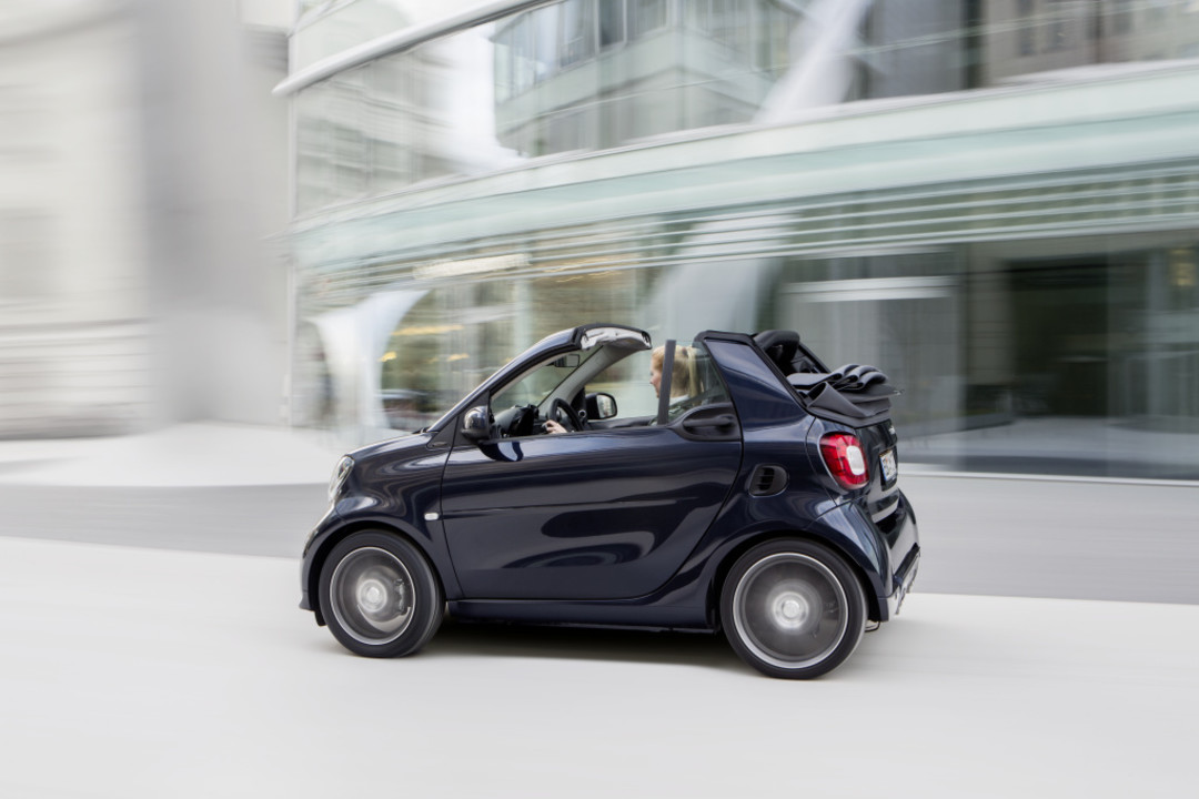 smart fortwo cabrio a453 seit 2014. Black Bedroom Furniture Sets. Home Design Ideas