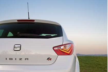 SEAT Ibiza SC 6P Heck statisch weiss