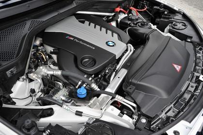 BMW X5 Facelift Aussenansicht Detail Motorraum statisch