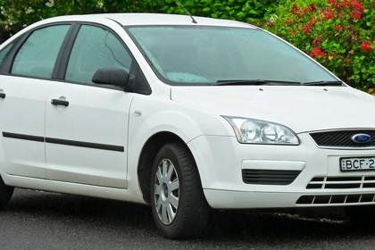 Forc Focus MK2 Limousine Aussenansicht Front schräg statisch weiß
