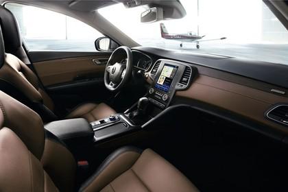 Renault Talisman RFD Innenansicht statisch Vordersitze und Armaturenbrett beifahrerseitig