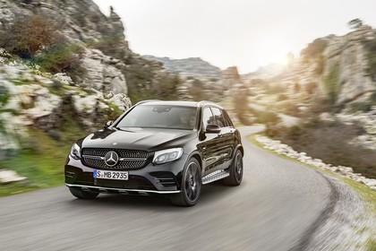 Mercedes GLX X253 Aussenansicht Front schräg dynamisch schwarz