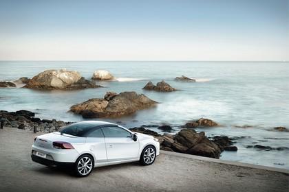 Renault Mégane CC Z Aussenansicht Seite schräg erhöht statisch weiss