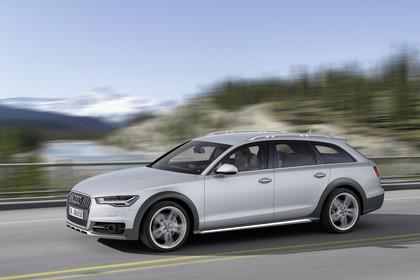 Audi A6 C7 Allroad Aussenansicht Seite dynamisch silber