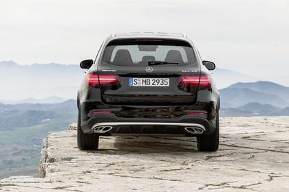 Mercedes GLX X253 Aussenansicht Heck statisch schwarz